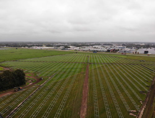 """Start of construction of Zonneakker """"de Watering C.V."""" in Coevorden"""