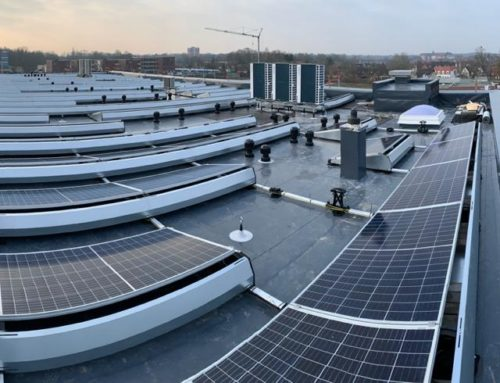 Installation of a solar system for the new headquarters of Finanz-Union Nordhorn in NINO-Allee
