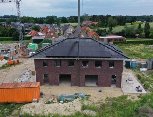 PV systems in the construction area Lemker Wiesen in Uelsen