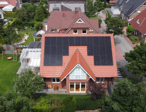 PV system for a single-family house in Nordhorn